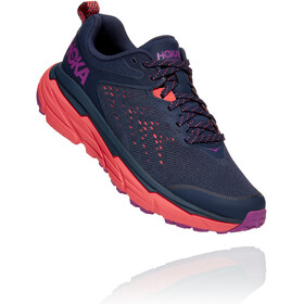 Hoka One One Challenger ATR 6 Running Shoes Women black iris/hot coral